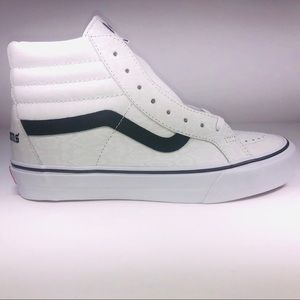 VANS Noon Goons SK8 Hi White Snakeskin Black Shoes
